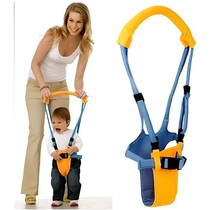 Porte bébé aide à la marche harnais de sécurité / de marche jaune