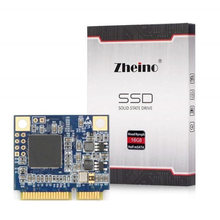 DISQUE DUR SSD Zheino 64 Go demi-taille mSATA ssd Mini mSATA (dem