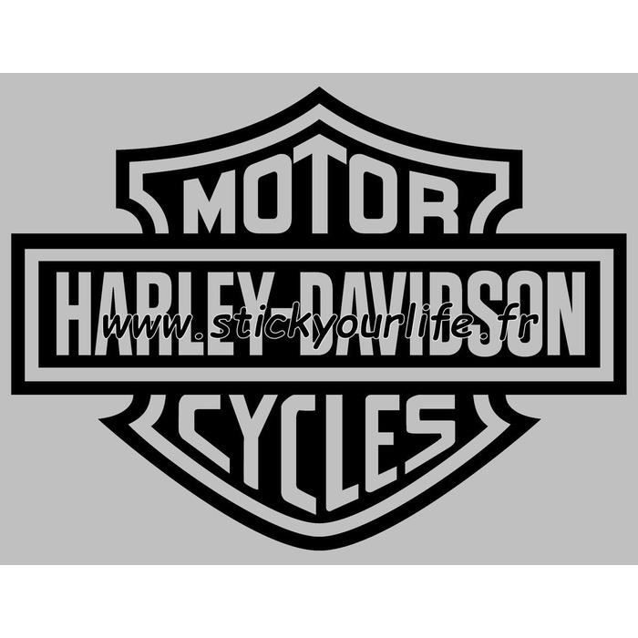 autocollant harley davidson achat vente autocollant harley davidson pas cher cdiscount. Black Bedroom Furniture Sets. Home Design Ideas