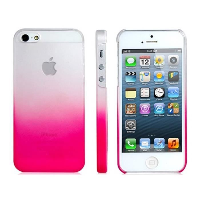 Coque iphone 5c housse silicone souple transparent pour for Housse iphone 5c