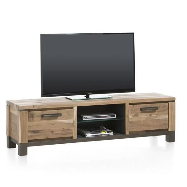 meuble tv 170 cm kikar massif falster h h achat vente meuble tv meuble tv 170 cm kikar mass. Black Bedroom Furniture Sets. Home Design Ideas