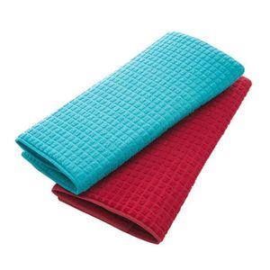 FEUILLE DE CUISSON  2pcs rectangulaire tapis de séchage de vaisselle e