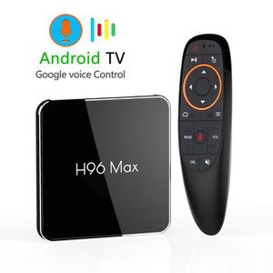 BOX MULTIMEDIA H96 Max X2 Android 8.1 Quad Core Smart TV BOX 4 Go