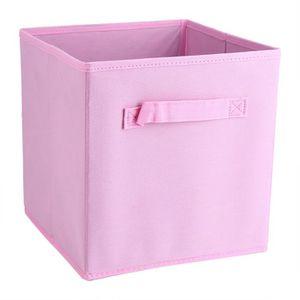 BOITE DE RANGEMENT LIUX 6Pack Carrés Pliables Vêtements Cubes de Tiss