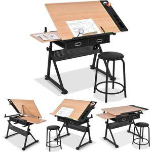 TABLE A DESSIN Table à Dessin Inclinable Tables de Bureau Informa