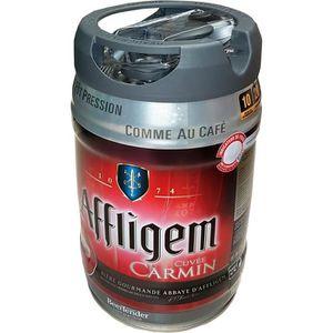 BIÈRE 2 x futs de bière Affligem Cuvée Carmine keg Bidon
