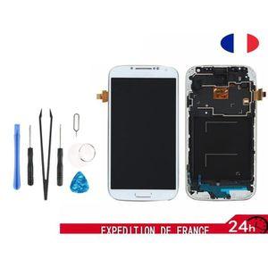 PIÈCE TÉLÉPHONE Blanc LCD Ecran Samsung Galaxy S4 i9505 + Chassis