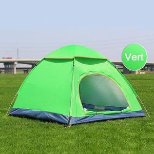 TENTE DE CAMPING Tente 3-4 Places Pop-up Instantanée Sans Montage V