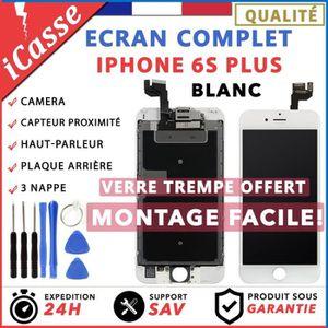 ECRAN DE TÉLÉPHONE VITRE TACTILE + ECRAN LCD COMPLET IPHONE 6S PLUS B