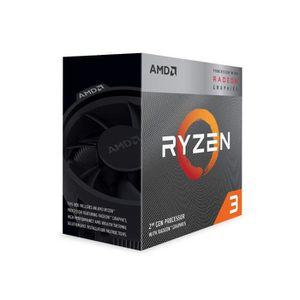 PROCESSEUR AMD Ryzen 3 3200G Processeur 3, 6 GHz Boîte 4 Mo L