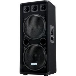 ENCEINTE ET RETOUR McGrey DJ-2222 Enceintes de Basement Party/DJ 1000