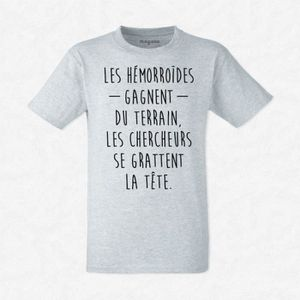 T-SHIRT T-shirt Les hémorroïdes