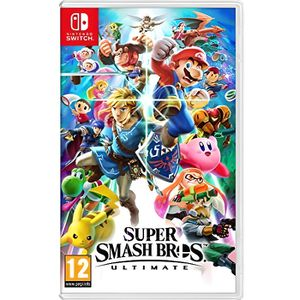JEU NINTENDO SWITCH Super Smash Bros Ultimate Nintendo Switch + 1 Figu