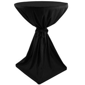 NAPPE DE TABLE Housse pour table haute ronde cocktail Classique Ø