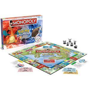 JEU SOCIÉTÉ - PLATEAU MONOPOLY Pokémon - Version Française