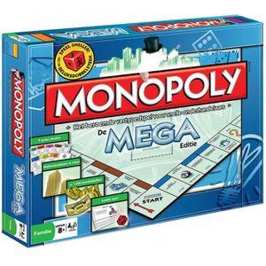 JEU SOCIÉTÉ - PLATEAU jeu de société Mega- Monopoly (NL)