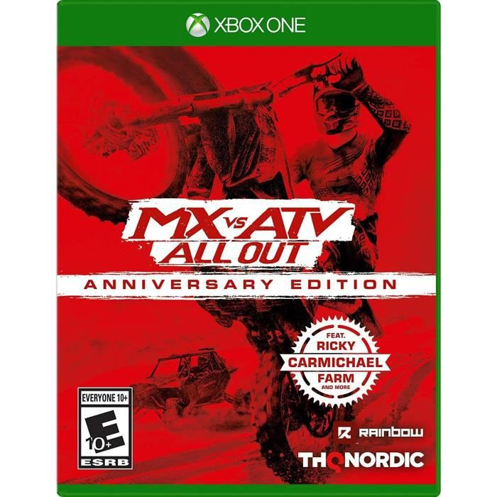 MX vs ATV : All Out Anniversary Edition Jeu Xbox One
