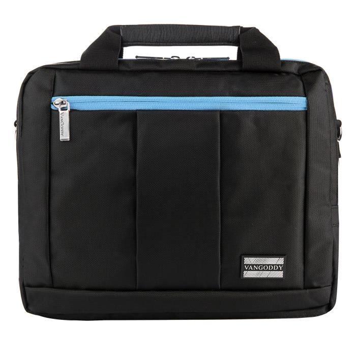 Valise Ou Bagage Vendu Seul KSNTJ Trois El Prado dans un sac de 15 à 17,3 pouces ordinateurs portables (noir - Aqua