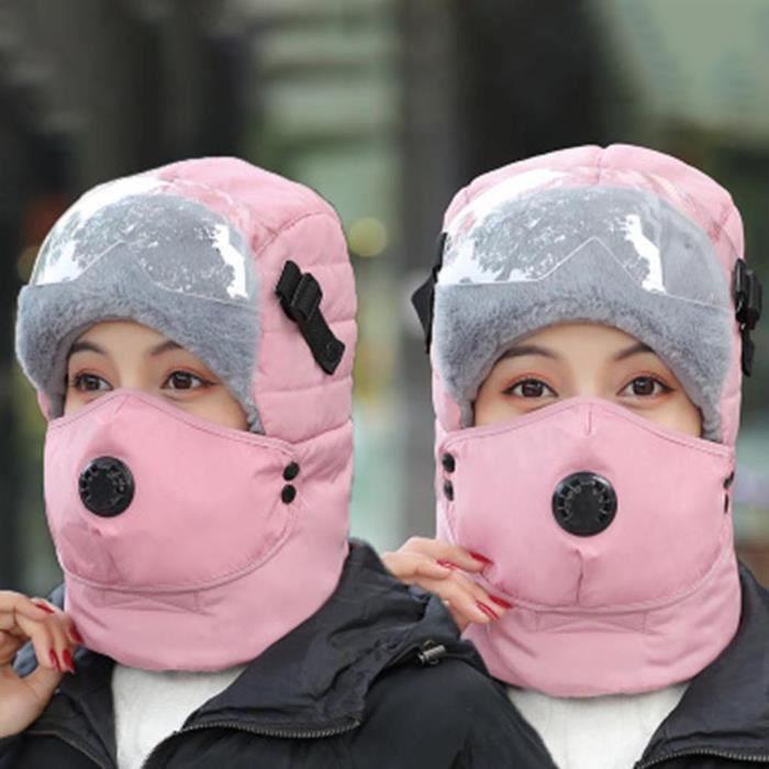 Protection sportive Hommes et femmes Ski Plus Velvet Mask Hiver Work Hunting Work Riding Work Warm Cap ZXT91113037PK_cbas