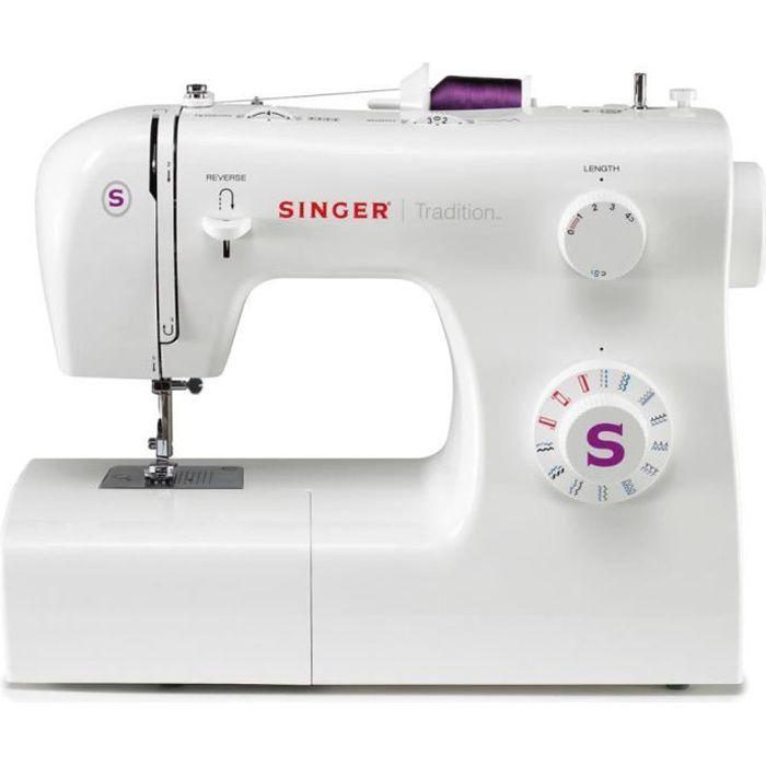 Machine à coudre Simple 2263 85 W Blanc SINGER