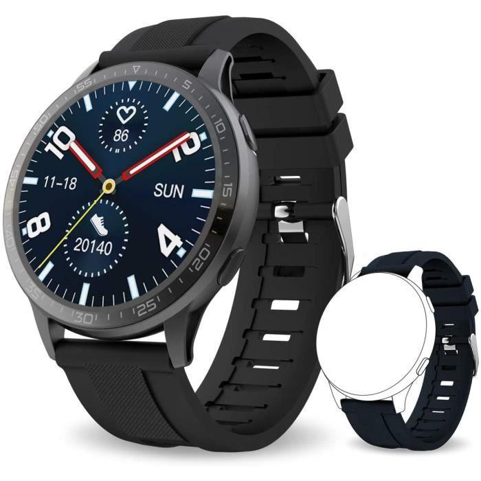 Monte Connectée Bluetooth 5.0 Smartwatch Bracelet Connecté Cardio Etanche IP68 Podometre Sport Cardiofrequencemetre Marche Chr[480]