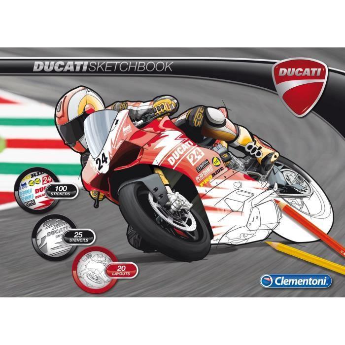 CLEMENTONICahier à dessins Ducati