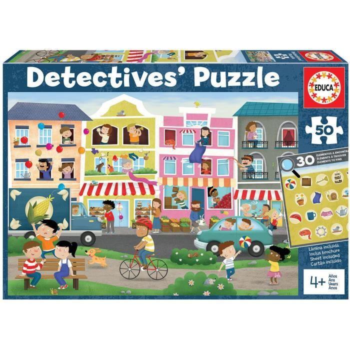 50 En Ville - Detectives Puzzle