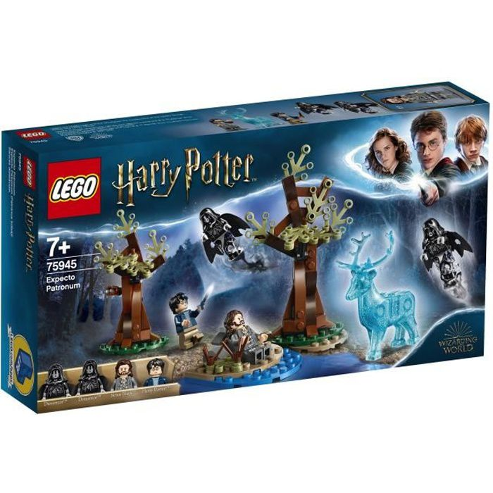 LEGO® Harry Potter™ 75945 Expecto Patronum - Jeu de construction - Avec 4 figurines et figurine Patronus