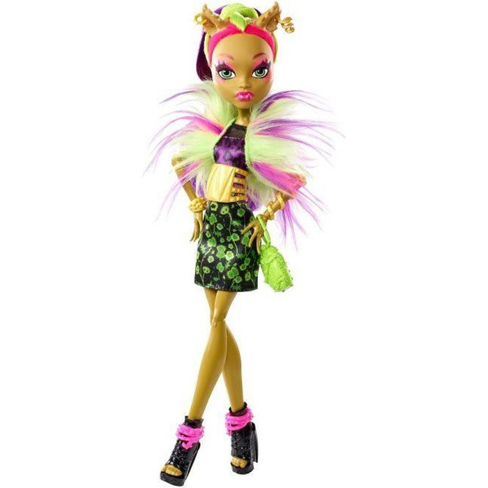 poupée monster high fusion clawvenus