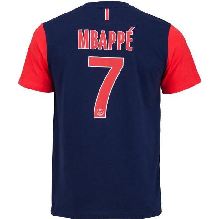 T-shirt PSG - Kylian MBAPPE - Collection officielle PARIS SAINT GERMAIN - Taille Homme