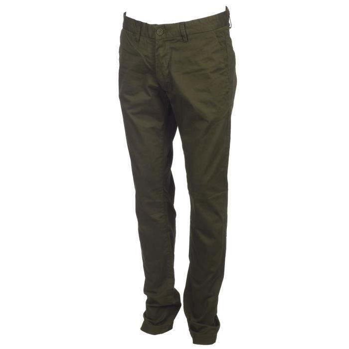 Pantalon Chino slim blk coffee - Teddy smith