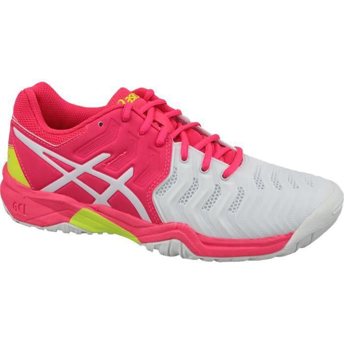 Asics Gel-Resolution 7 GS C700Y-116 chaussures de tennis pour enfant Blanc