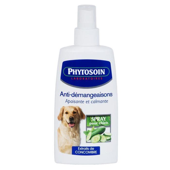 Phytosoin - 094094 - Chiens - Lotion Anti-Démangeaison Calmante - Spray sans Gaz - 125 ml: Animalerie