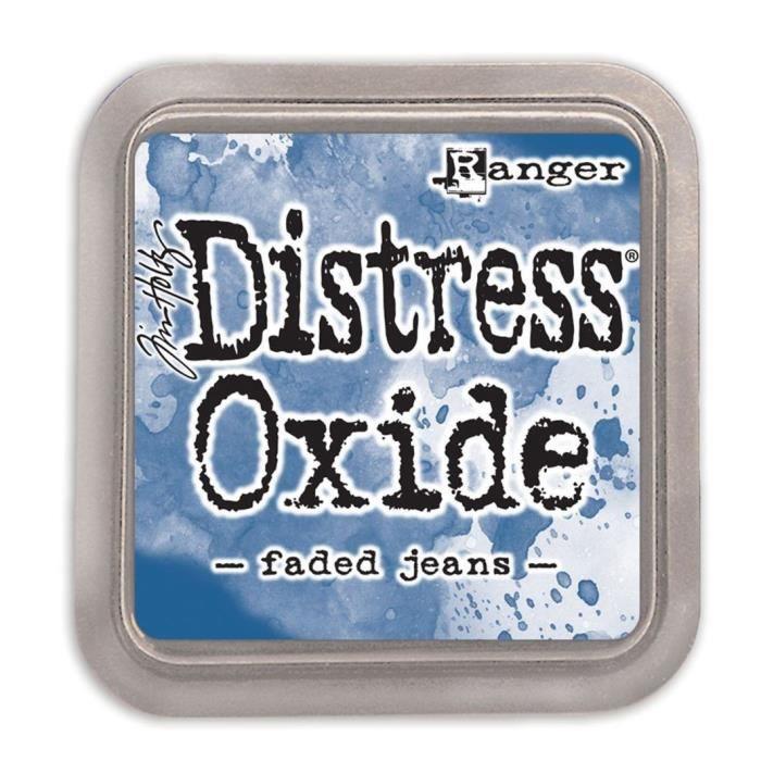 Encreur Distress Oxide de Ranger - Ranger distress oxides:faded jeans