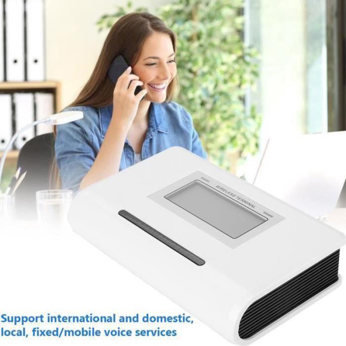 VV35268-MEIHE 100-240V FWT appelant 1900-1800-900 - 850MHZ de téléphone du terminal GSM sans fil fixe--EU