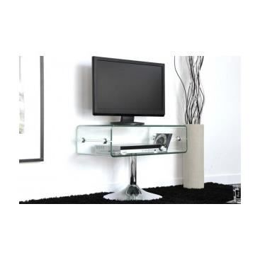 Meuble tv hifi design banc de salon cuisine int achat for Meuble tv angle design salon