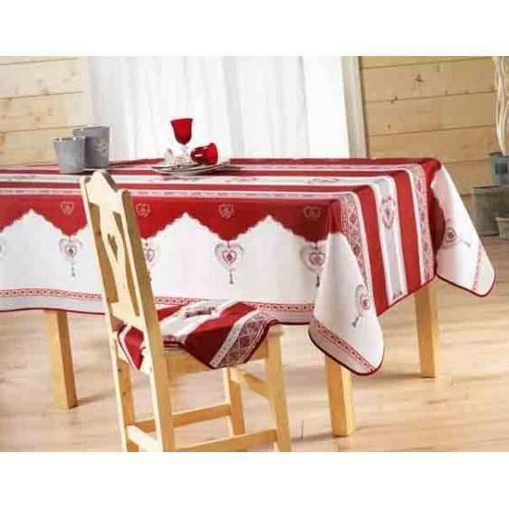 nappe anti tache rectangle 150x240 cm romance r achat. Black Bedroom Furniture Sets. Home Design Ideas
