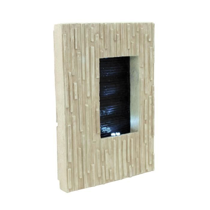 Fontaine murale structure achat vente fontaine for Cascade murale interieur