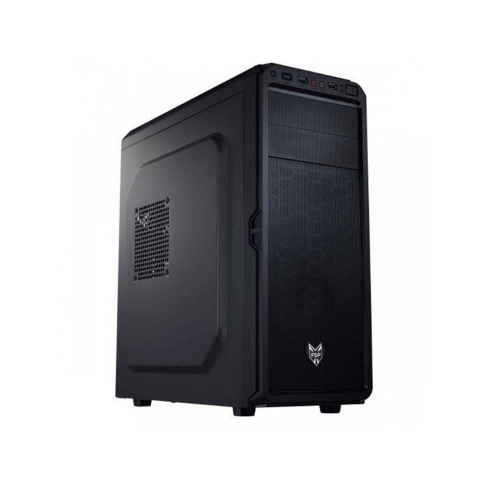 BOITIER PC  BT FORTRON FSP Moyen Tour CMT-110 Noir