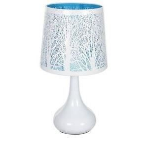 lampe de chevet tactile arbre bleu achat vente lampe. Black Bedroom Furniture Sets. Home Design Ideas