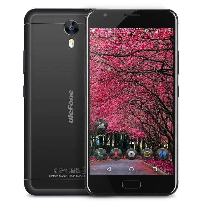 Téléphone portable Ulefone power2 5.5'' Smartphone Android 7.0 MT6750