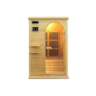 Sauna infrarouge 2 places gamme carbone talline ii achat - Sauna infrarouge carbone ...
