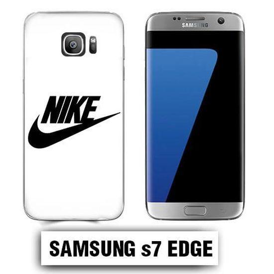 Coque Samsung S7 Edge NIKE Blanche