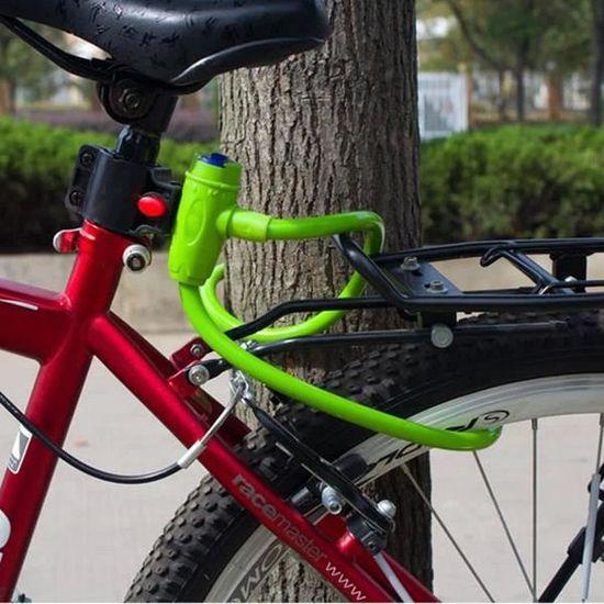 Key Locker Bike Cyclisme Vélo Chariot Moteur Sécurité Fil d/'acier câble serrure 8 mm