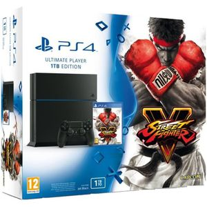 CONSOLE PS4 PS4 1 To + Street Fighter V