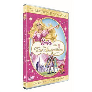 DVD DESSIN ANIMÉ DVD Barbie et les 3 mousquetaires