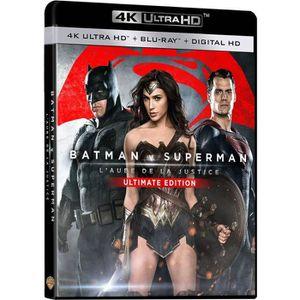 BLU-RAY FILM Blu-Ray 4K Batman v Superman : L'aube de la justic