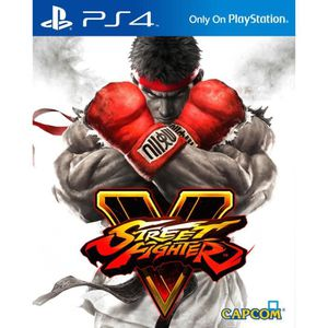 Street Fighter V Jeu PS4
