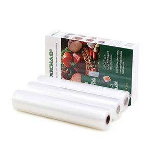500 x 15 cm R/éutilisable 15 x 500 cm et 28 x 500 cm Qualit/é sup/érieure Rouleau de film de qualit/é professionnelle Rouleau de film de mise sous vide Convient pour les appareils de soudage