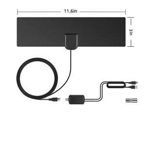ANTENNE RATEAU Antenne Portable Intérieure - Extérieure Haut Gain